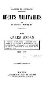 Gaulois et Germains: Après Sedan