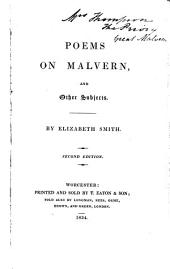 Poems on Malvern and Other Subjects