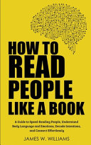 How to Read People Like a Book Book