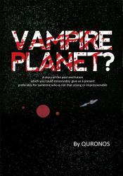 Vampire Planet  Book PDF