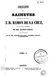 Coleccion de sainetes: Volumen 1