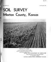 Soil Survey of Morton County, Kansas