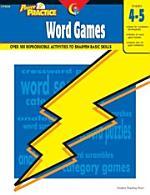 Power Practice: Word Games, Gr. 4-5, eBook