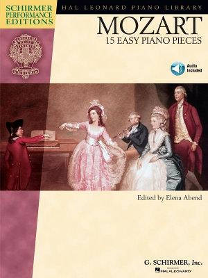 Mozart   15 Easy Piano Pieces  Songbook