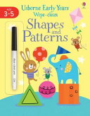 Early Years Wipe-Clean Shapes and Patterns
