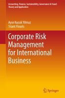 Corporate Risk Management for International Business PDF