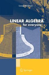 Linear Algebra for Everyone