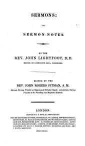 The Whole Works: Sermons and sermon-notes, Volume 7