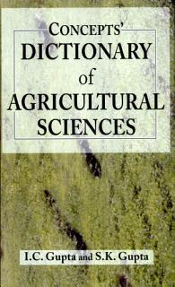 Concept S Dictionary Of Agricultural Sciences Book