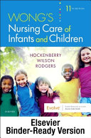 Wong S Nursing Care Of Infants And Children Binder Ready