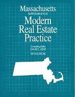 Massachusetts Supplement for Modern Real Estate Practice PDF