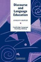 Discourse and Language Education PDF