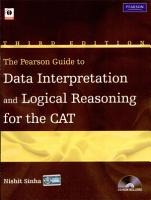 The Pearson Guide to Data Interpretation and Logical Reasoning for the CAT PDF