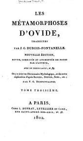 Les Métamorphoses d'Ovide: Volume3