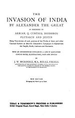 The Invasion of India by Alexander the Great