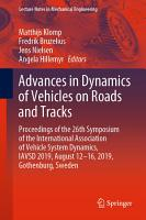Advances in Dynamics of Vehicles on Roads and Tracks PDF