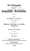 Betrachtungen   ber die franz  sische Revolution PDF