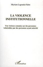 La violence institutionnelle