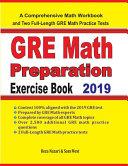 GRE Math Preparation Exercise Book PDF