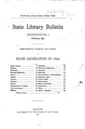 Legislation: Volumes 1-6