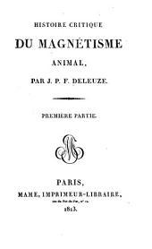 Histoire critique du magnétisme animal: Page1