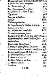 Recueil des Pièces les plus curieuses, qui ont esté faites pendant le regne du Con. M. de Luyne