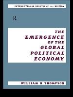 The Emergence of the Global Political Economy PDF