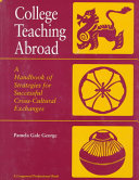 College Teaching Abroad PDF