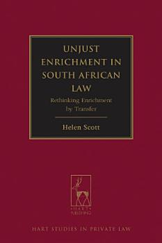 Unjust Enrichment in South African Law PDF
