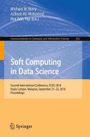 Soft Computing in Data Science