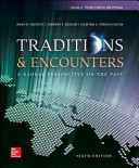 Traditions   Encounters Volume 2 from 1500 to the Present