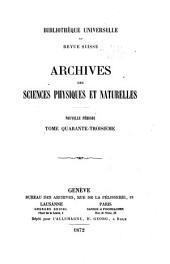 Bibliothèque universelle, revue suisse et étrangère: Volume43