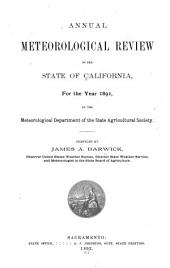 Annual Meteorological Review of the State of California ...