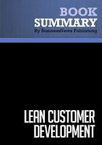 Summary: Lean Customer Development
