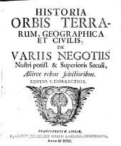 Historia Orbis terrarum geographica et civilis