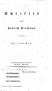 Schriften: alt und neu, Band 1