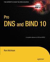 Pro DNS and BIND 10 PDF