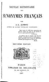 Nouveau dictionnaire des synonymes français