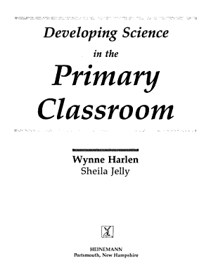Developing Science in the Primary Classroom PDF