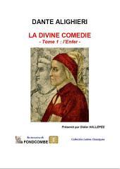 La divine comédie — volume 1 — L'enfer