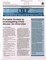 Portable Guides to Investigating Child Abuse PDF