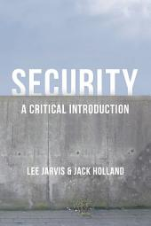 Security: A Critical Introduction