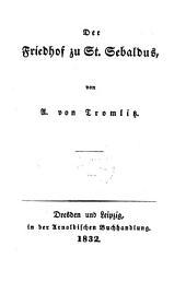Der Friedhof zu St. Sebaldus: Das Turnier zu Eisenach