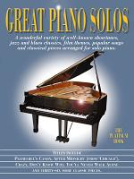 Great Piano Solos  The Platinum Book PDF