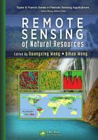 Remote Sensing of Natural Resources PDF
