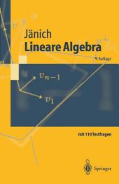 Lineare Algebra: Ausgabe 9