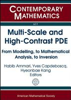 Multi scale and High contrast PDE PDF