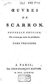 Oeuvres de Scarron: Volume2
