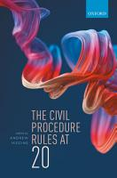 The Civil Procedure Rules at 20 PDF