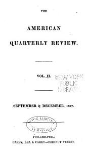 The American Quarterly Review: Issues 3-4